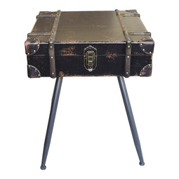 Davy Jones Side Table, Black, Industrial
