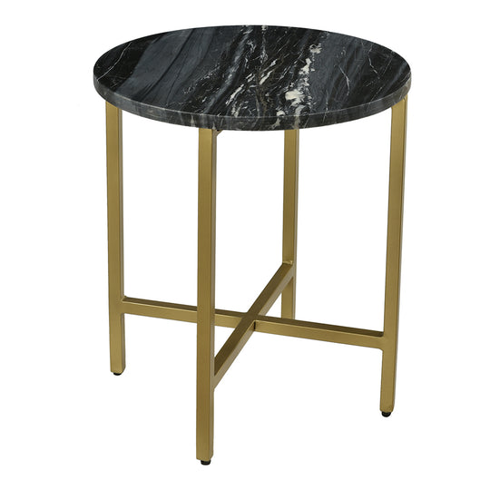 Haveli Side Table Black, Black, Contemporary Modern