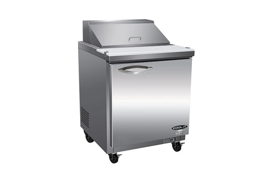 "IKON Series Sandwich / Salad Prep Unit, one-section, 28-9/10""W x 29-9/10""D x 43-1/5""H"