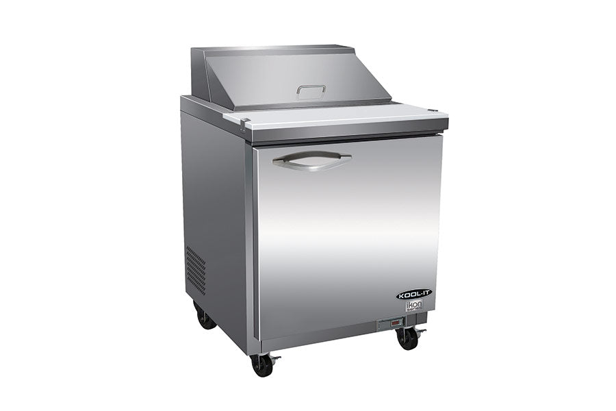 IKON Series Sandwich / Salad Prep Unit, one-section, 28-9/10