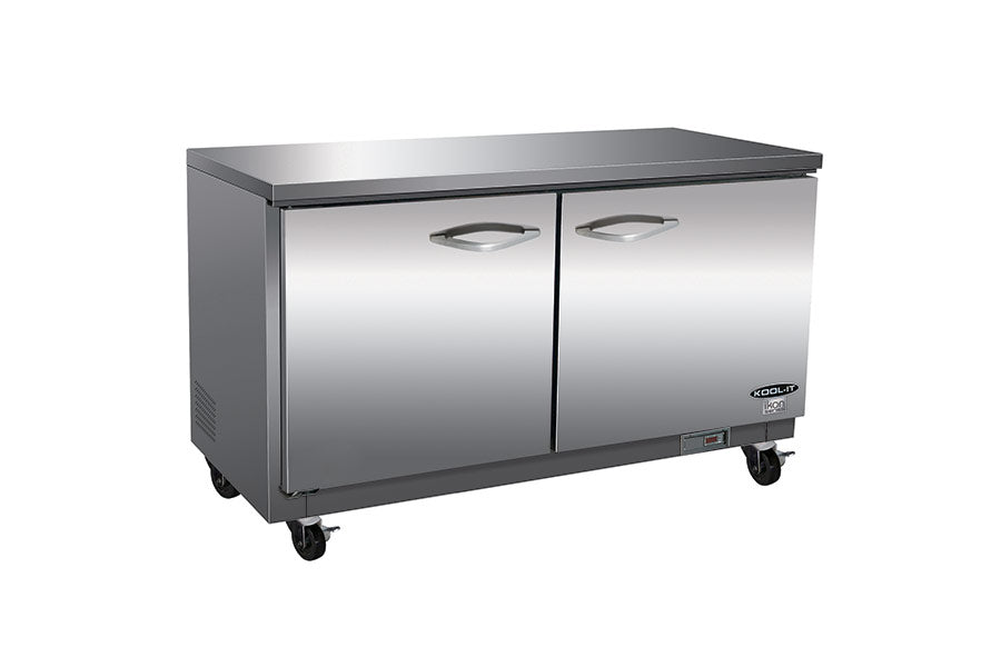 IKON Series Undercounter Refrigerator, two-section, 61-1/5