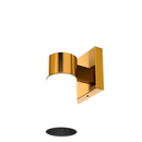 Load image into Gallery viewer, 2 Lights-LED Wall Sconce W/ Frosted Glass Shade - E26 Base - UL Listed, Brushed Brass Finish