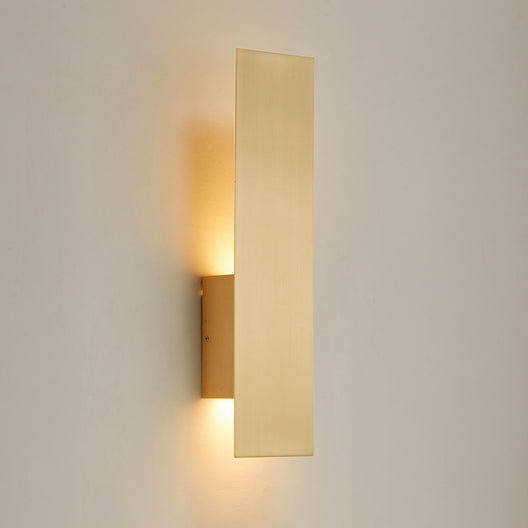 Modern Wall Sconce Fixture with Frosted Acrylic Diffuser