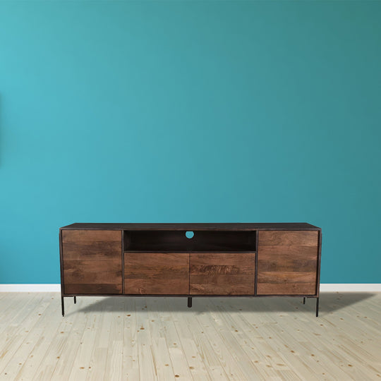 Contemporary Modern Tobin Media Entertainment Unit - Buffet Table - Tv Stand