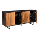 Load image into Gallery viewer, Contemporary Modern Vienna Sideboard & Storage Cabinet - Pantry Sideboard