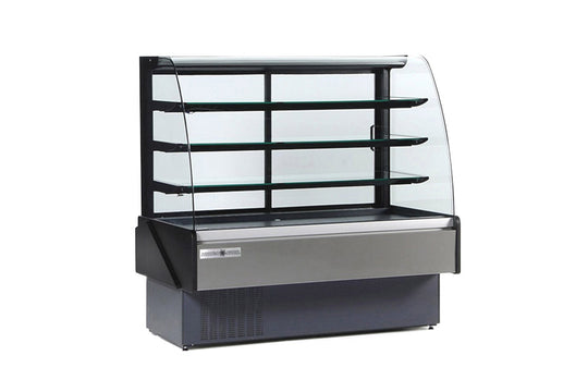 "Hydra-Kool Bakery Display Case, non-refrigerated, 77-1/2""W x 33-1/2""D"