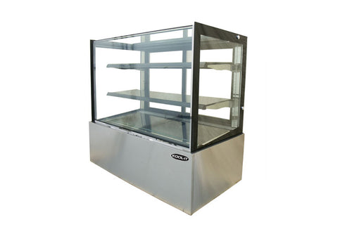 Kool-It Ambient Display Case, freestanding, full service, 59-W