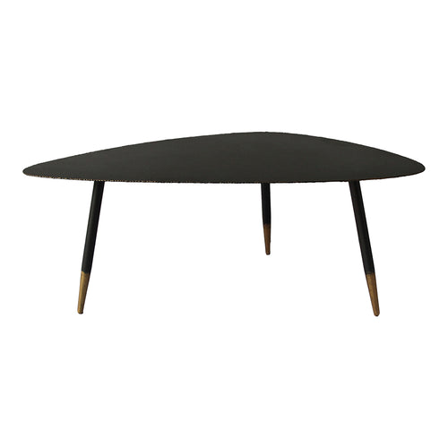 Bruno Coffee Table, Black, Industrial