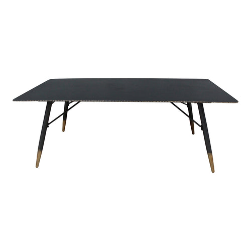 Watt Coffee Table, Black, Industrial