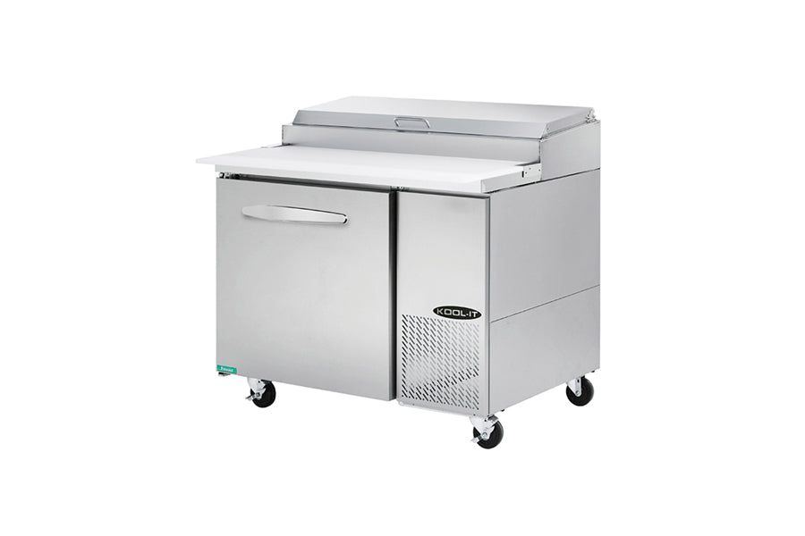 Kool-It Pizza Preparation Table, one section, 11.3 cu.ft