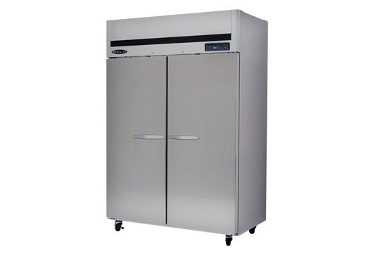 "Kool-It Refrigerator, reach-in, two section, 44.7 cu.ft., 53-9/10""W x 31""D x 81-4/5""H"