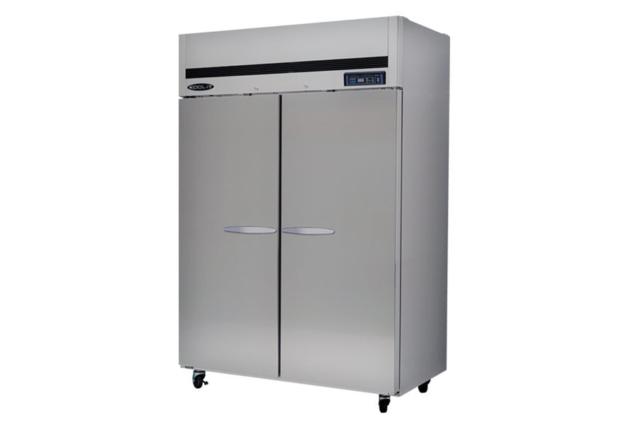 Kool-It Refrigerator, reach-in, two section, 44.7 cu.ft., 53-9/10