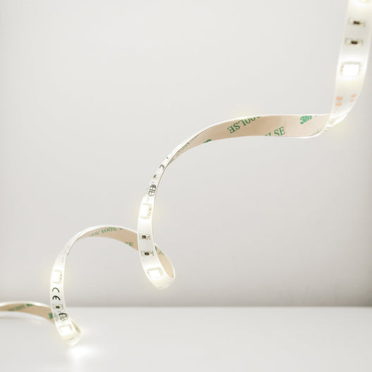 LED Warm Flexible Strip, 5M, 24W, 2700K, With 30W Plug-in Driver