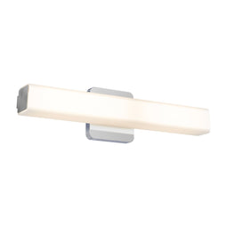 LED Vanity Light, Square Glass, 3000K (Warm White)