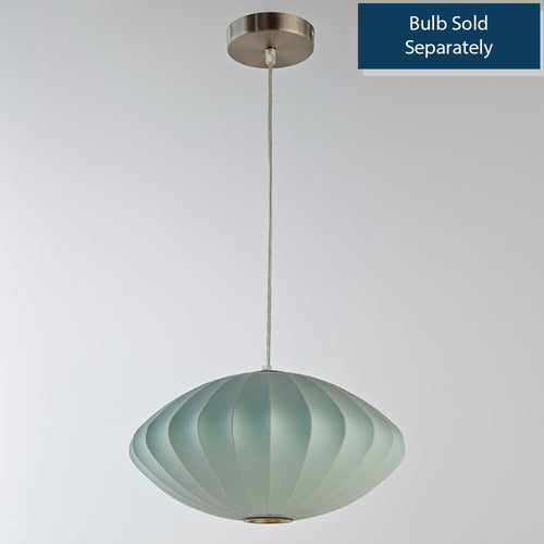 14 Inch Pendant Lamp, Blue