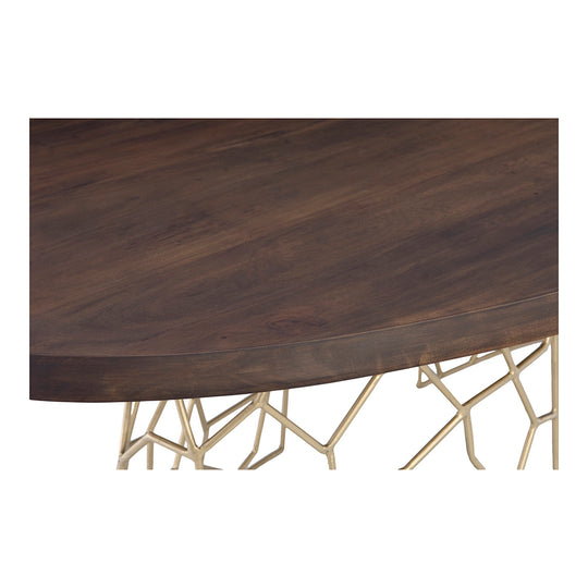 Ario Modern Living Room Dining Table - Bar Counter Height Table - Dark Brown