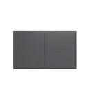 "Load image into Gallery viewer, 30""W X 18""H X 24""D, Double Door Cabinet For Fridge - Lacqure Grey"