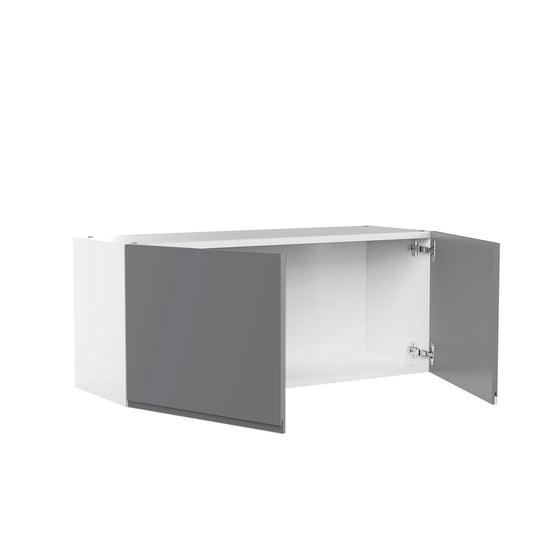"36"" X 15"" Double Door Wall Cabinet - Lacqure Grey"