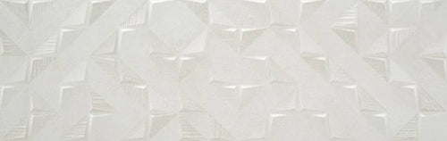 Lumen 12.44 X 39.37 Inch Moon Matte White Body Wall Tile