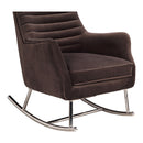 Load image into Gallery viewer, Transitional Lars Rocker Velvet Lounge Chair - Corner Reading Chair