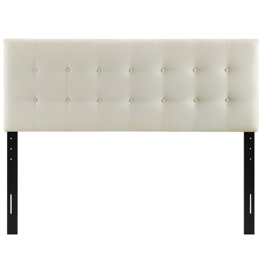 Emily Queen Upholstered Fabric Headboard