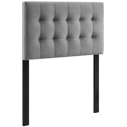 Modern Lily Biscuit Tufted Performance Velvet Headboard - Elevated Style Headboard