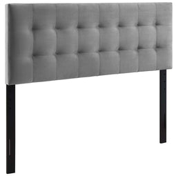 Modern Lily Biscuit Tufted Performance Bed Headboard - Elevated Style Headboard