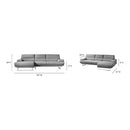 Load image into Gallery viewer, Contemporary Modern Jenn Sectional Sofa Couch - Sectionals With Chaise