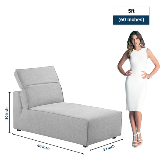 Rodeo Chaise, Contemporary Modern