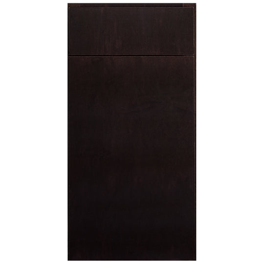 "30"" X 34.5"" X 24"" - 4.5H "" Mesa Espresso ( 3 Drawers ) Stain Kitchen Cabinet"