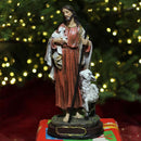 "Load image into Gallery viewer, 12"" Jesus the Good Shepherd Religious Christmas Nativity Table Top Figure"
