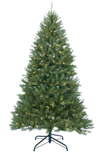 9' Pre-Lit Essex Pine Medium Artificial Christmas Tree - Clear Lights