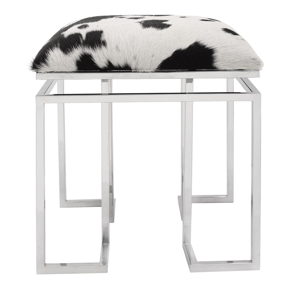 Contemporary Modern Appa Space Saving Square Stool - Outdoor/Indoor Stool