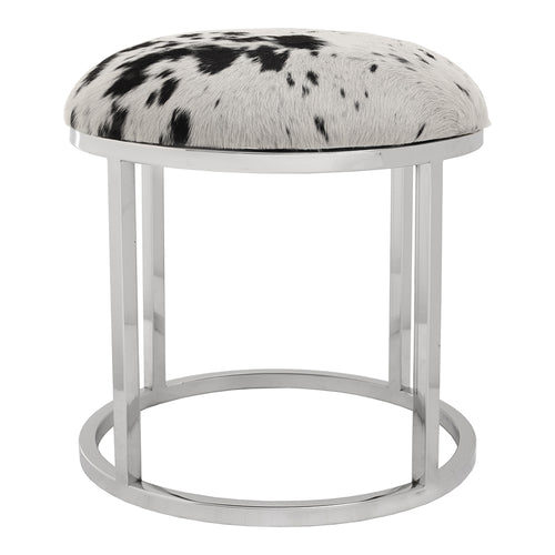 Contemporary Modern Appa Space Saving Round Stool - Outdoor/Indoor Stool