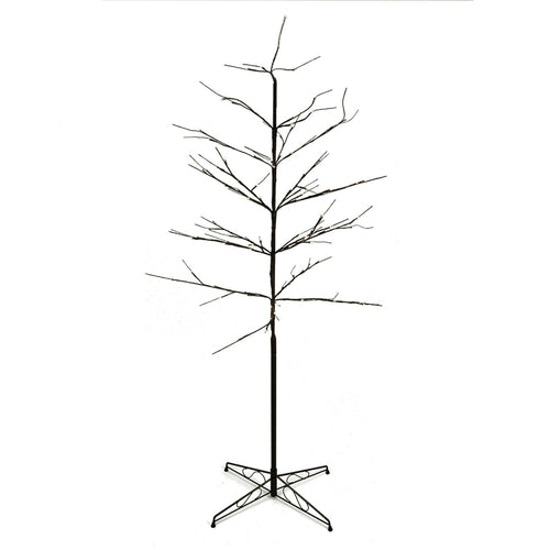 6' LED Lighted Color Combo Christmas Twig Tree Outdoor Decoration