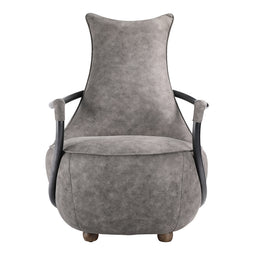 Industrial Carlisle Club Chair - Perfect Accent Chair For Living Room