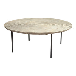 Contemporary Modern Vortex Coffee Table - Conference Conversation Office Desk Table