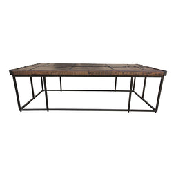 Industrial Templar Cocktail Bar Table - Rustic Large Coffee Table - Pub Table