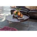 Load image into Gallery viewer, Contemporary Modern Linette Round Coffee Table - Cocktail Bar Table - Bar Table