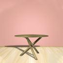 Load image into Gallery viewer, Sonoma Round Dining Room Table - Club Height Table -Dining Room Bare Table - Brass
