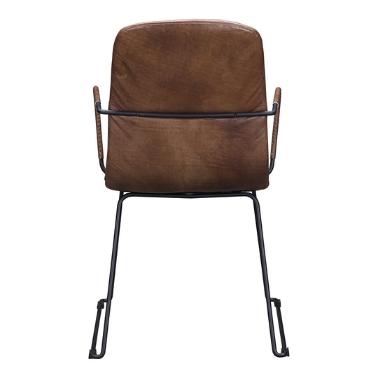 Bo Dining Chair, Contemporary Modern, Light Brown