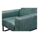 Load image into Gallery viewer, Contemporary Modern Grain Leather Brock Club lounge Arm Chair - Slipper Chair