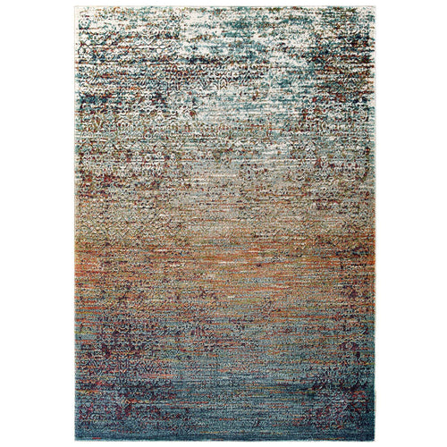 Tribute Jacinda Rustic Distressed Vintage Lattice Area Rug
