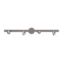 Load image into Gallery viewer, LED Dimmable Flexible Track Lighting, Brushed Nickel Finish, 3000K (Warm White), ETL Listed