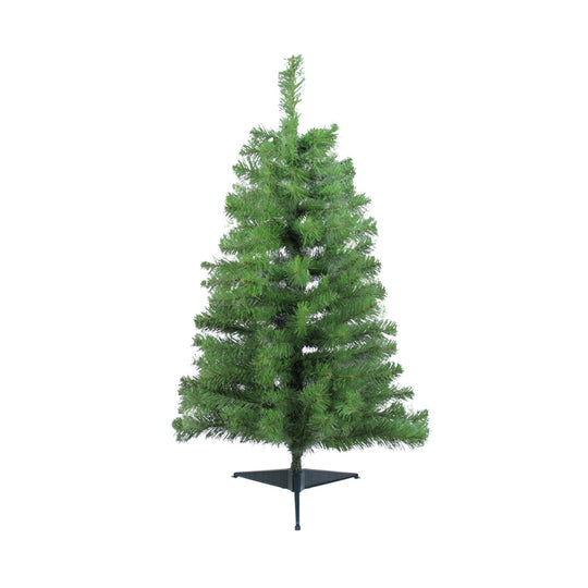 "3' x 22"" Traditional Noble Fir Medium Artificial Christmas Tree - Unlit"