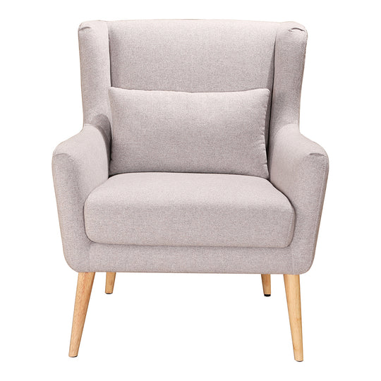 Transitional Style Stol Lounge Armchair - Upholstered Living Room Accent Chair