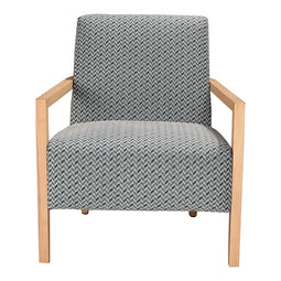 Manning Arm Chair, Teal, Mid-Century Modern