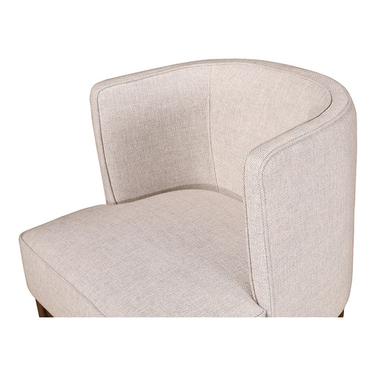 Contemporary Modern Upholstered Polyester Daniel Chair Sand Living Chair