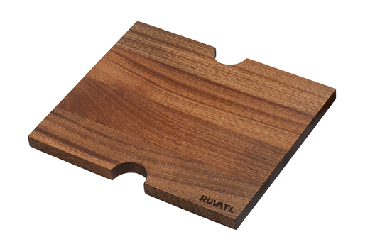 13 x 11 inch Solid Wood Cutting Board Sink Cover for workstation sink