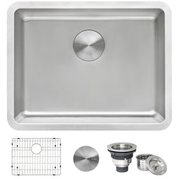 23-inch Undermount Kitchen Sink 16 Gauge Stainless Steel Single Bowl